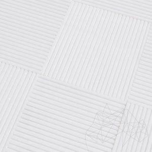 Marmura Thassos Coco Line 15 x 15 x 1cm - Lichidari stoc