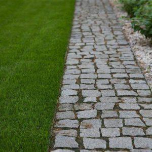 Piatra Cubica Granit Gri Sare si Piper Natur 10 x 10 x 5cm