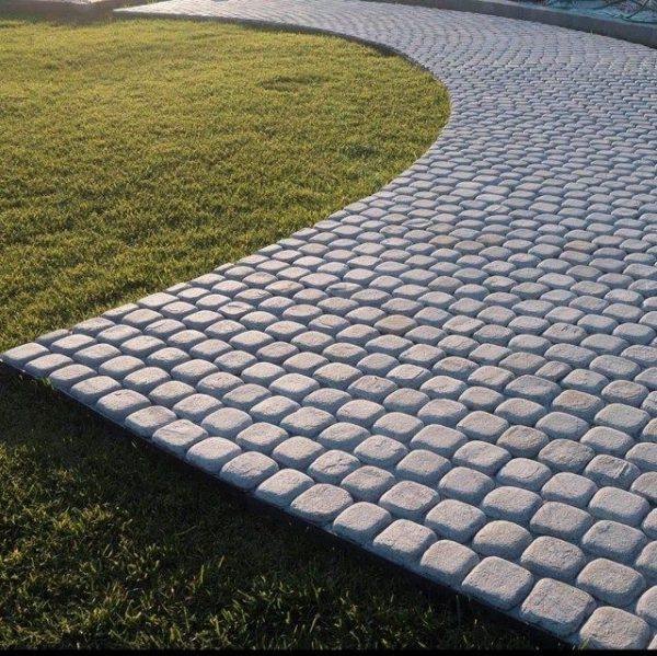 Piatra Cubica Ardezie Kavala Antichizata 10 x 10 x 3-5 cm