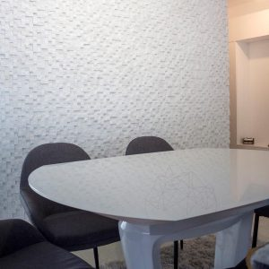 Mozaic Marmura Thassos 3D Scapitata 2.8 x 2.8cm
