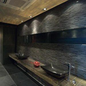Mozaic Marmura Black Matrix 15 x 30cm