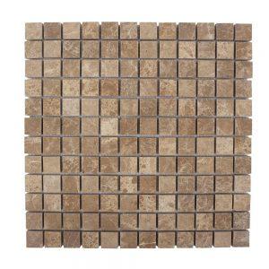 Mozaic Marmura Light Emperador Polisata 2.3 x 2.3 cm