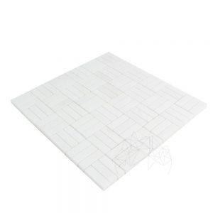 Mozaic Marmura Thassos Polisata Tetris - Lichidare stoc