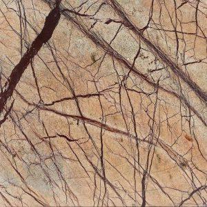 Blat Marmura Rain Forest Brown Polisata 250 x 65 x 3cm