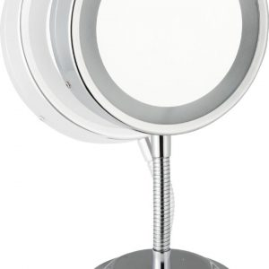 Oglinda cu picior flexibil Sanwood Katharina 3x lumina LED 11cm