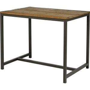 Masa de bar din lemn de ulm Vintage, L130xl90xh104 cm