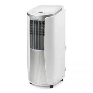 Aer conditionat portabil Trotec PAC 2610 E, Capacitate 9.000 Btu, Debit 330mc:ora, Telecomanda, Display, Timer, Pentru 85mc