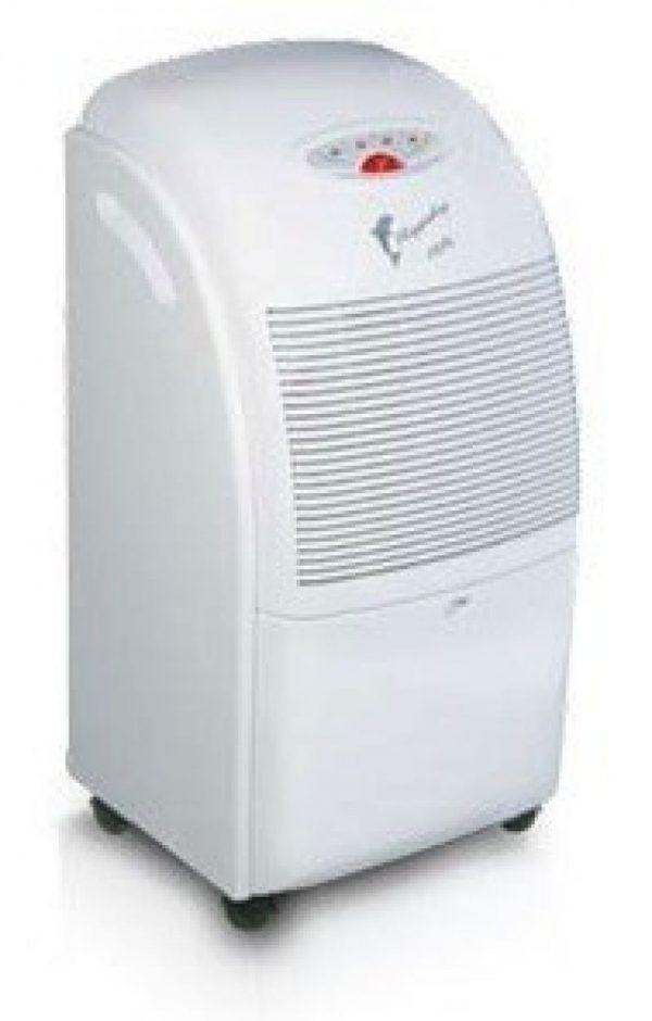 Dezumidificator FRAL F400 white, 24l:zi, Debit 300mc:h, Pentru spatii de pana la 80mp, Higrostat reglabil