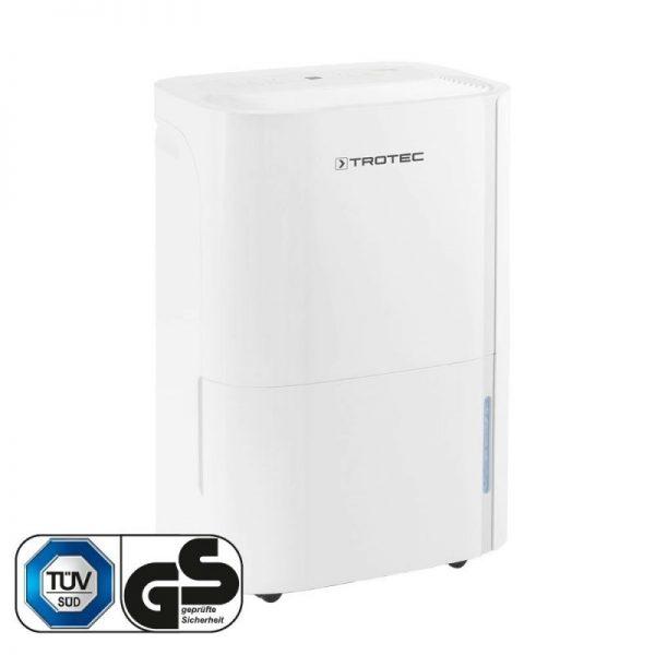 Dezumidificator Trotec TTK66E, 24l /24h, Functie ionizare si uscare rufe, Debit 170 mc/h, Pentru 50mp, Higrostat integrat