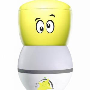 Umidificator de aer Air Naturel Gotakid, Rata umidificare 350ml/h, Lampa de Veghe, Consum 30W/h, Pentru 30mp, Functia Higro-Smar