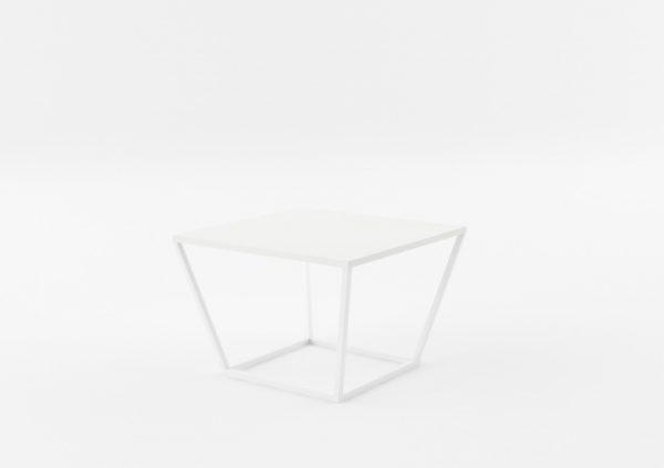 Masa de cafea NOi Brazil Square White, L68xl68xh50 cm