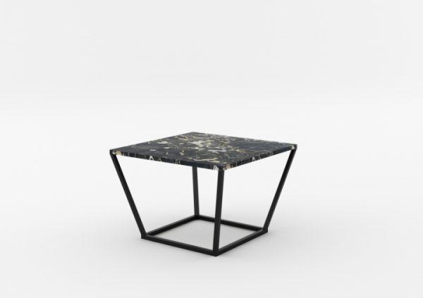 Masa de cafea NOi Italy Square Black, L68xl68xh50 cm