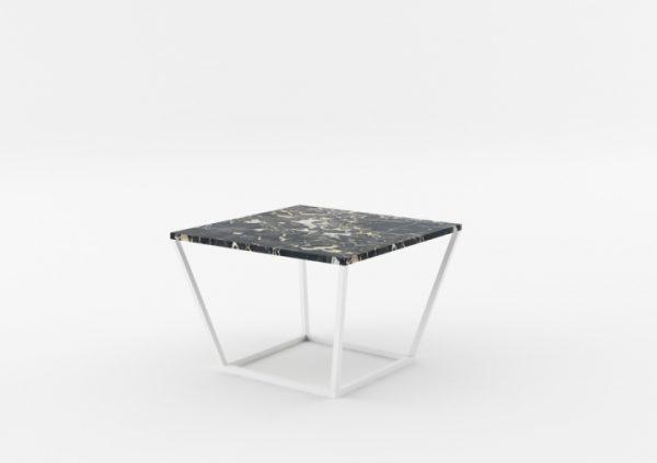 Masa de cafea NOi Italy Square White, L68xl68xh50 cm