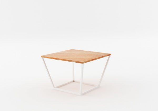 Masa de cafea NOi Spain Square White, L68xl68xh50 cm