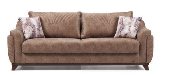 Canapea Extensibila 3 locuri Amber Brown K3