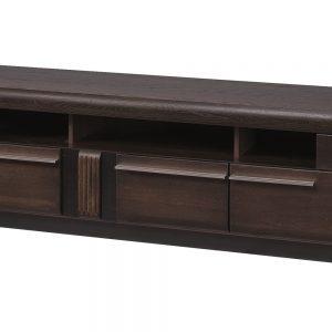Comoda TV Porti 25 Chocolate Oak, l160xA42xH51 cm