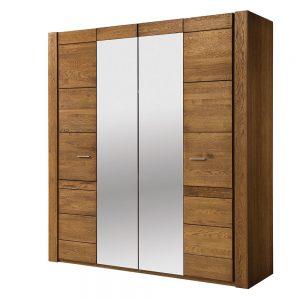 Dulap cu 4 usi si oglinda Velvet 77, l205xA60xH225 cm