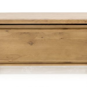 Lada de depozitare din lemn de stejar York Oak, l109xA45xH50 cm