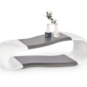 Masa de cafea din fibra de sticla Della, L113xl57xh33 cm