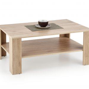 Masa de cafea din MDF Kwadro Votan Oak, L110xl65xh53 cm
