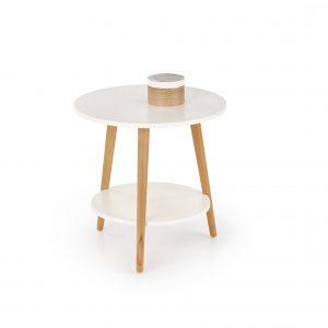 Masa de cafea Sago White, O50xh50 cm