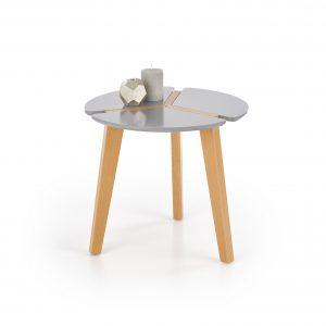 Masa de cafea Zeta Grey, O50xh45 cm
