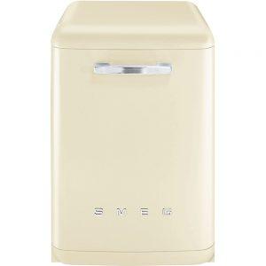 Masina de spalat vase independent LVFAB, 60 cm, 13 seturi, Retro 50, SMEG