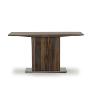 Masuta living / Consola din lemn prelucrat Messina Brown, l140xA44xH75 cm