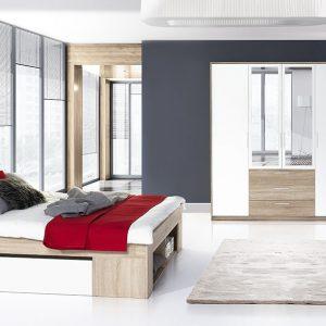 Set Mobila Dormitor 3 piese Milo