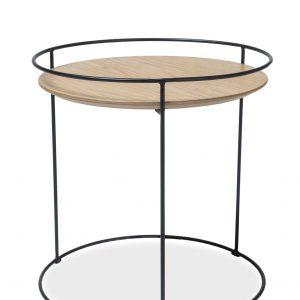 Masa de cafea din MDF si furnir Ones I, O50xh50 cm