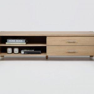 Comoda TV din furnir Cope Oak, l170,4xA47xH46,6 cm