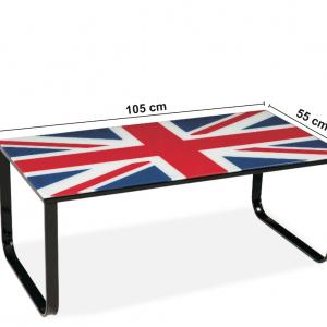Masa de cafea Taxi Flag, L105xl55xh43 cm