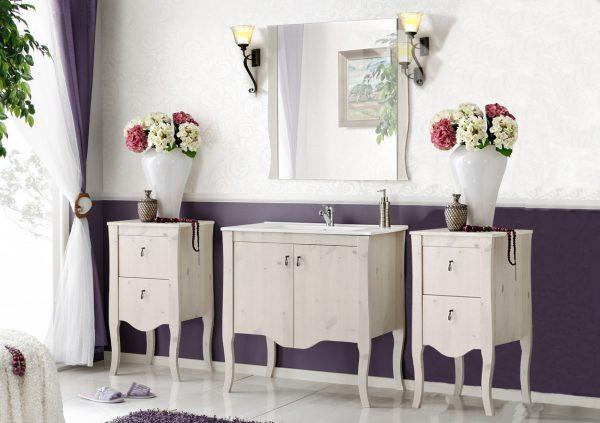 Set Mobilier pentru baie, 5 piese, Elisabeth