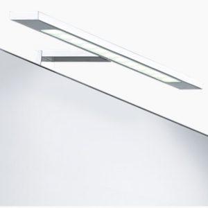 Iluminare oglinda Eglo Imene 40cm colectia Trend Crom Sticla satinata alba