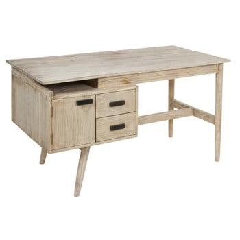 Birou de scris din lemn mindi Santiago Pons Nice