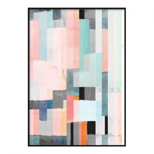 Poster DecoKing Abstract Panels, 50 x 40 cm