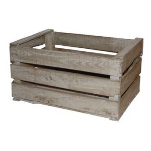 Cutie din lemn Antic Line Wooden Grey