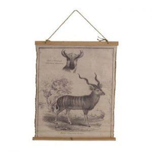 Poster pe o pânză din bumbac Geese Antilope