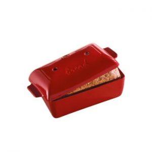 Formă din ceramică pentru copt pâine Emile Henry, roșu