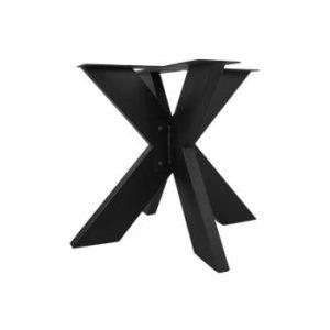 Picioare metalice pentru blat masă HMS collection, ⌀ 90 cm, negru