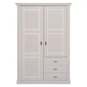 Dulap din lemn cu 2 uși Artemob Khate, alb
