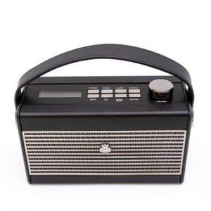 Radio GPO Darcy Cream Wo294, negru