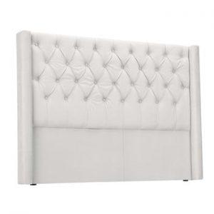 Tăblie pentru pat Windsor & Co Sofas Queen, 196 x 120 cm, alb