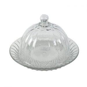 Tavă de sticlă cu capac Antic Line