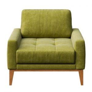Fotoliu MESONICA Musso Tufted, verde