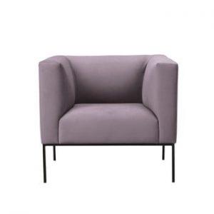 Fotoliu din catifea Windsor & Co Sofas Neptune, roz deschis