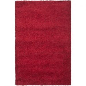Covor Safavieh Crosby Shag, 121 x 182 cm, roșu