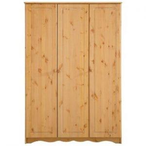 Șifonier din lemn de pin masiv cu 3 uși Støraa Amanda