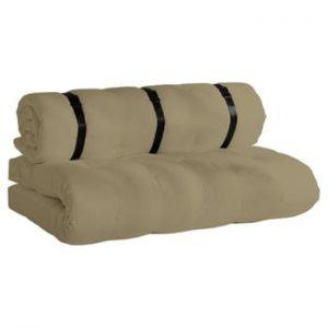 Canapea extensibilă potrivită pentru exterior Karup Design Design OUT™ Buckle Up Beige, bej