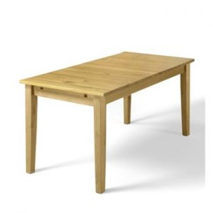 Masă din lemn de pin Støraa Daisy, 75 x 120 cm